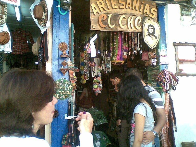 Artesanías en la Calle Real