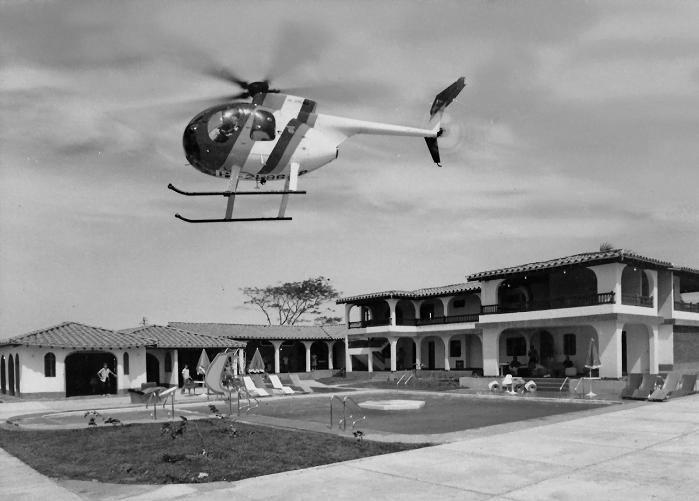 Foto de la hacienda nápoles cuando pertenecía al capo Pablo Escobar