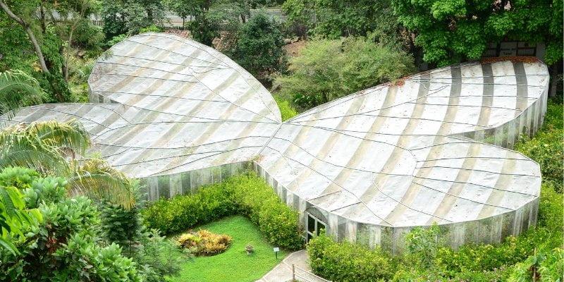 Mariposario en el Jardín Botánico del Quindío