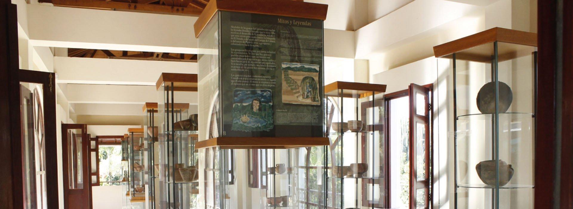 Museo de Arqueología en el Parque del Café