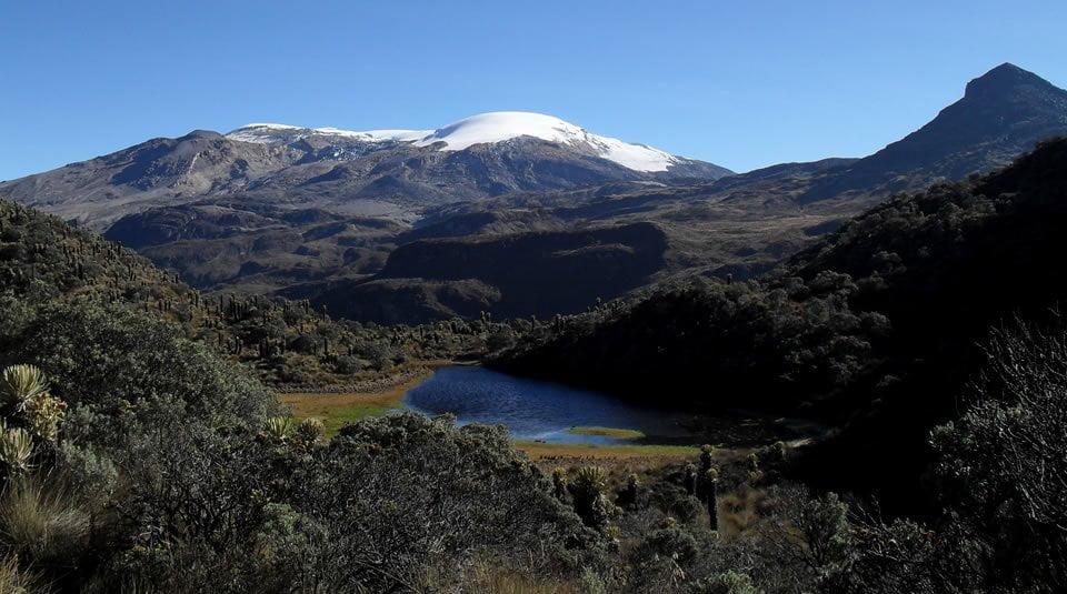 Panorámica del Parques Nacionales Naturales de Colombia Parque Nacional Natural Los Nevados