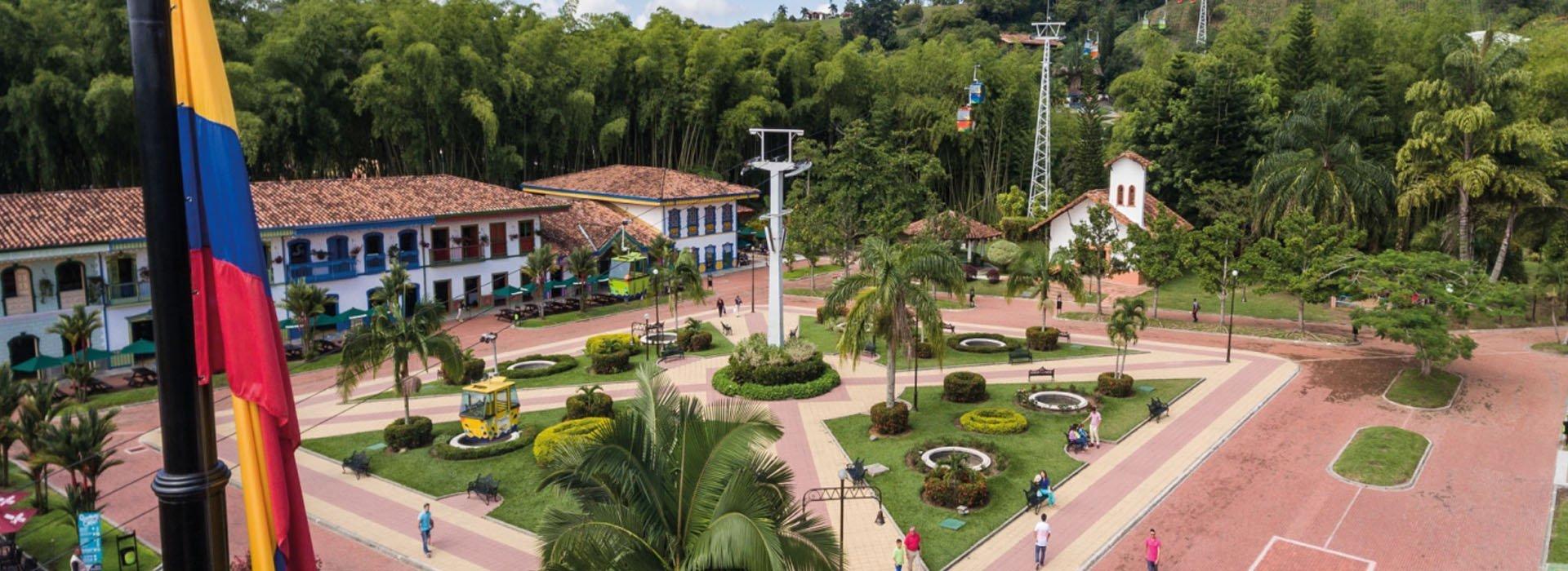 Plaza de Bolivar - Parque del Café