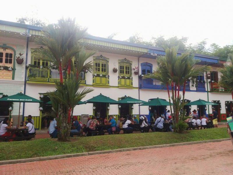 Restaurantes del Parque del Café