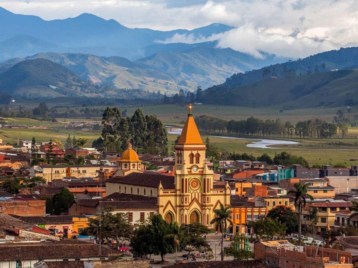 Foto panorámica de Urrao Antioquia
