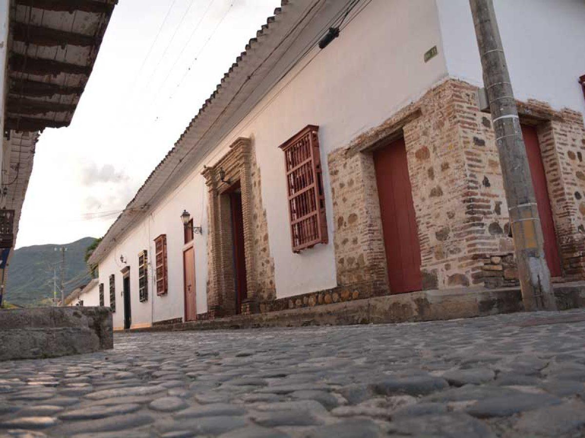 Calle Colonial en el Centro histórico