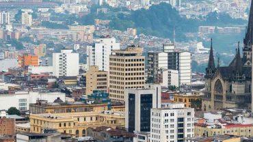 Panorámica de la ciudad de Manizales Caldas