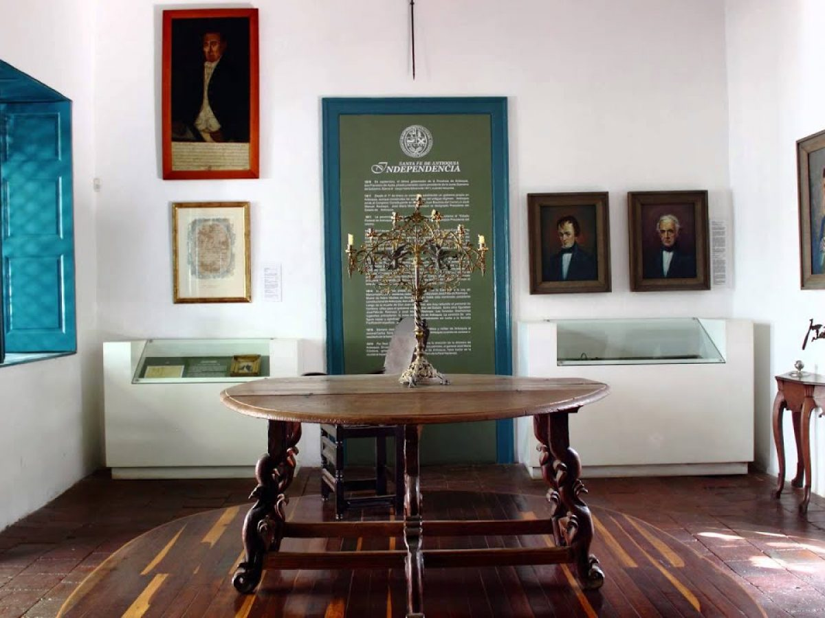 Museo Juan del Coral en Santa Fe de Antioquia