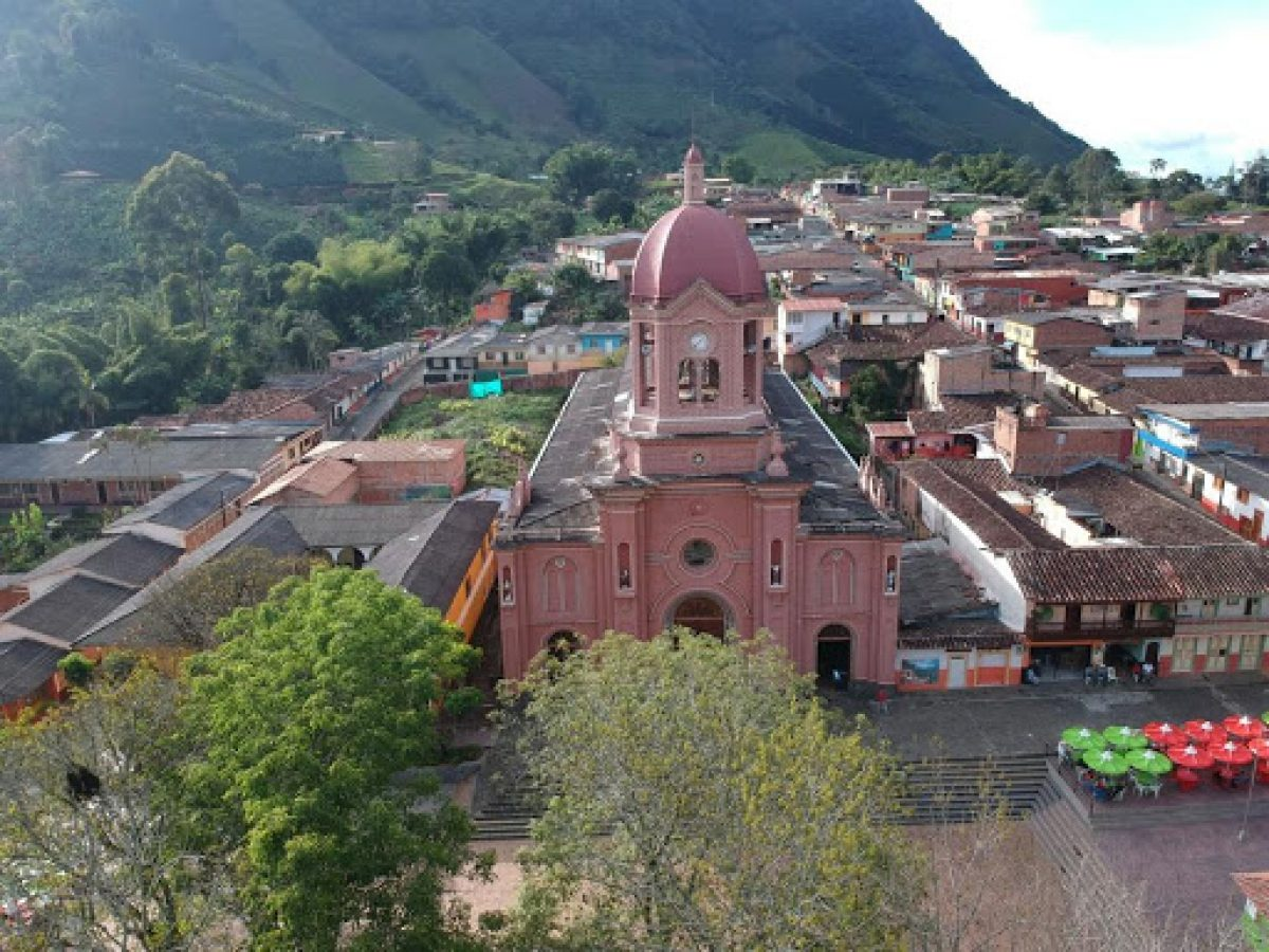 Panorámica de Pueblorrico, Antioquia