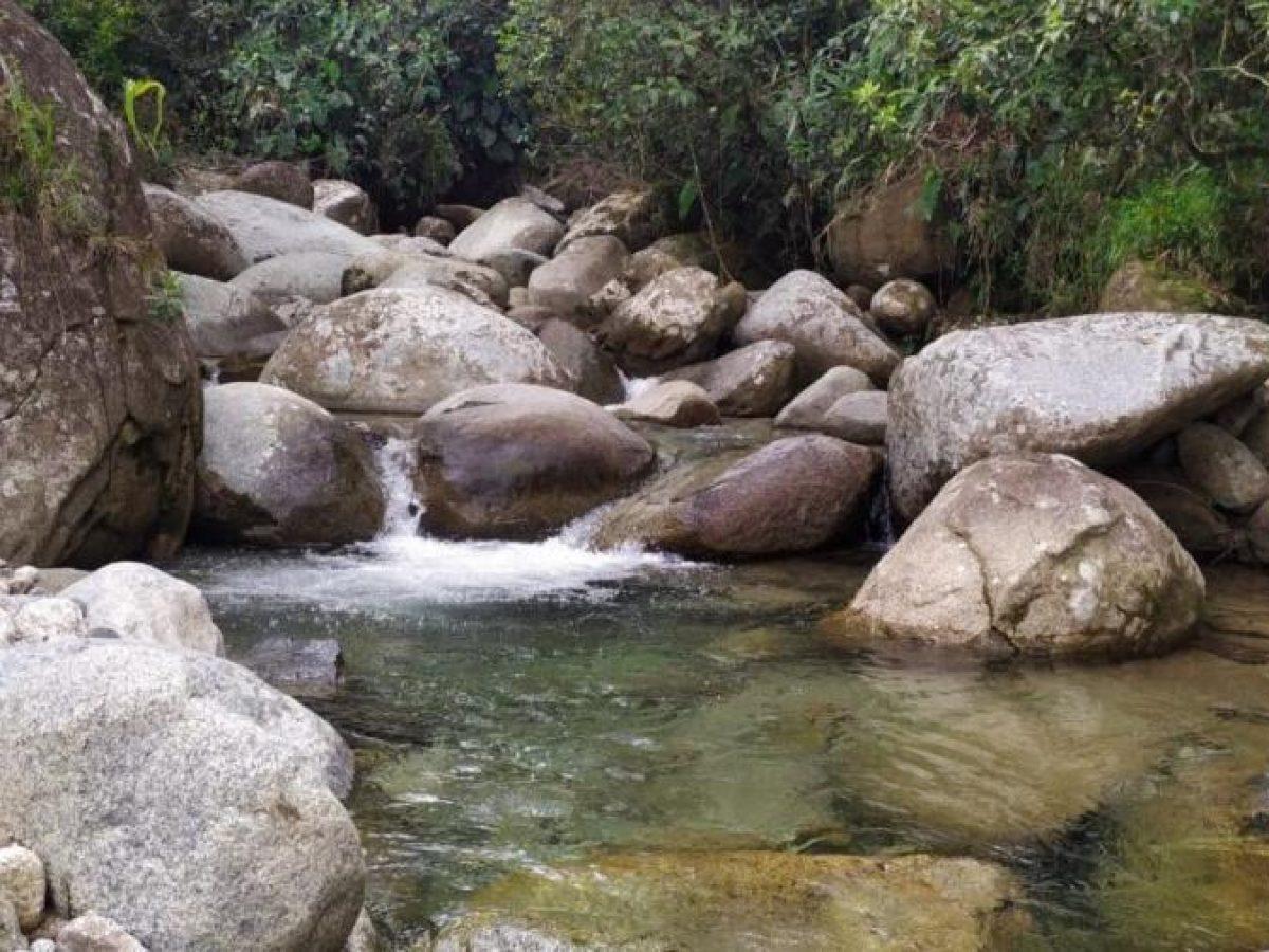 Quebrada en el municipio de San Rafael