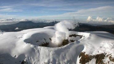 Turismo en el Nevado del Ruiz en el Eje Cafetero